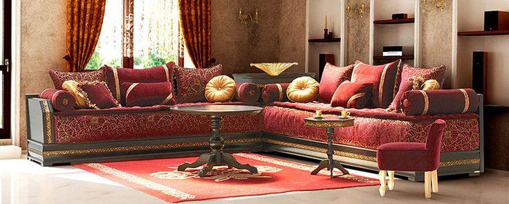 Traditionnels Oualidia Anissa Bordeaux > Oualidia | Salon Marocain RICHBOND, le specialiste des salons marocains et du meuble au Maroc