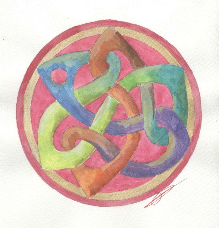 Mandala- Multicolore