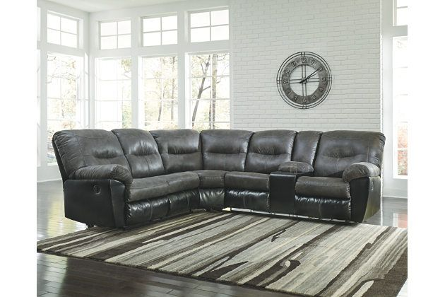 Leonberg 2 Piece Sectional Reclining Sectional Sectional Sofa Furniture