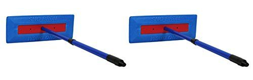 "SnoBrum Original Snow Removal Tool with 17"" to 28"" Compact Telescoping Handle- Remove snow from vehicles, awnings, pool/hot tub covers and more without Scratching (2 Pack). For product info go to:  https://www.caraccessoriesonlinemarket.com/snobrum-original-snow-removal-tool-with-17-to-28-compact-telescoping-handle-remove-snow-from-vehicles-awnings-poolhot-tub-covers-and-more-without-scratching-2-pack/"