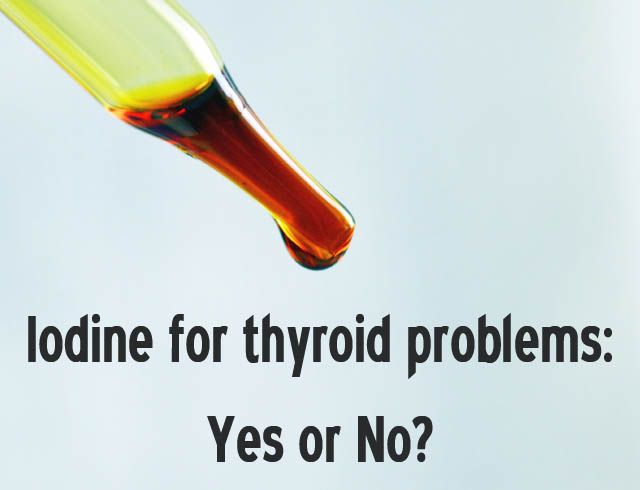 Is Iodine Helpful for Thyroid Problems? Wellness Mama | Do ...