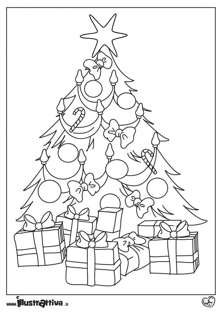 Albero Di Natale Da Colorare.Albero Di Natale Da Colorare Natale Alberi Di Natale Auguri Natale