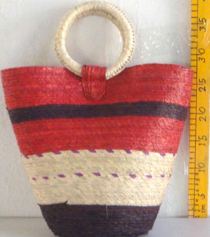 bolsas - Artesanía de palma y hoja de maíz: bolsas de palma, manteles de palma y más