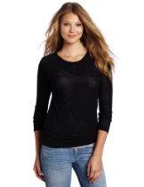SOLOW Women's Mesh Dolman Sweatshirt