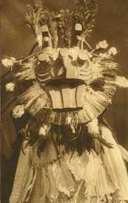 "1912  ""A Cowichan Mask""   - Northwest Coast"