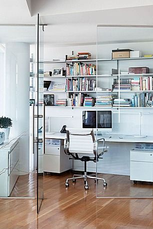 Great contemporary home office zillow digs office for Zillow office space