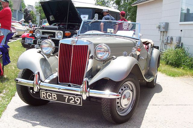 1952 MG  TD Roadster. Original Body, not replica. http://www.windblox.com/styles/mgb_windblocker.htm
