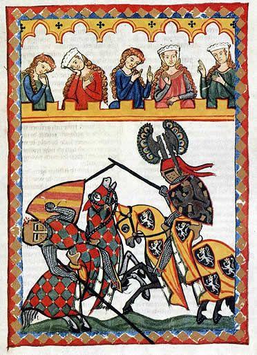 Edat mitjana: Les activitats de la noblesa