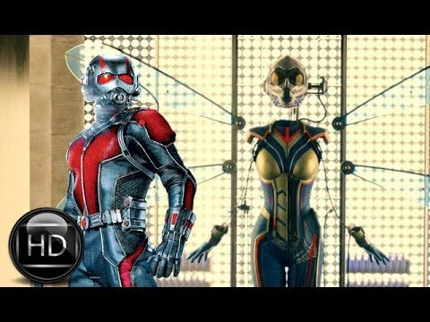 Marvel's Ant-Man and the Wasp : Theatrical Trailer (2018) [HD]