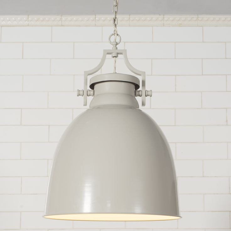 The Lexington #Pendant is a large and attractive light with a unique fitting at the top. It is particuarly suited to high ceiling sitations.