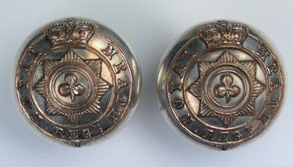 1880 Royal Meath Regiment buttons