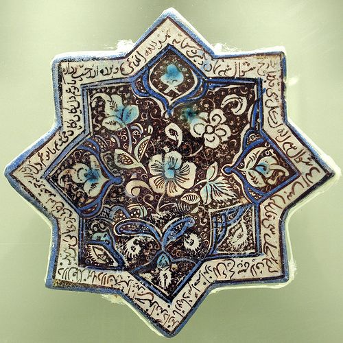 Istanbul, antique tile by doc(q)man, via Flickr