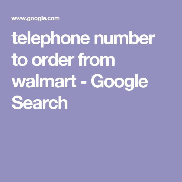 walmart online telephone number