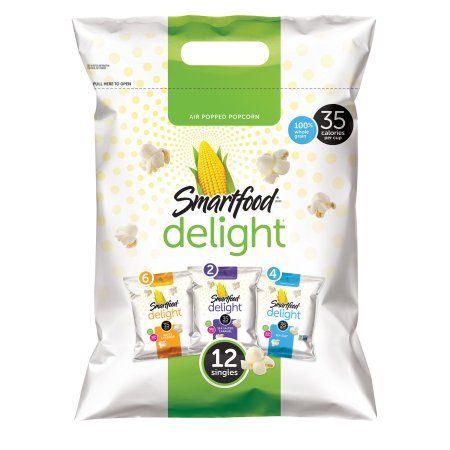 $3.98 Smartfood® Delight Popcorn Variety Pack 12-0.5 oz. Bags - Walmart.com