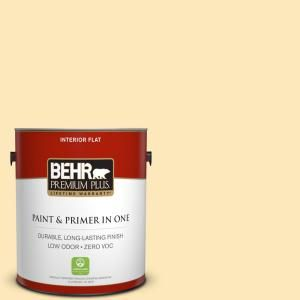 BEHR Premium Plus 1-gal. #P270-2 September Morning Flat Interior Paint 105001 at The Home Depot - Mobile
