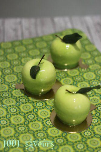 Les Pommes façon Cédric Grolet