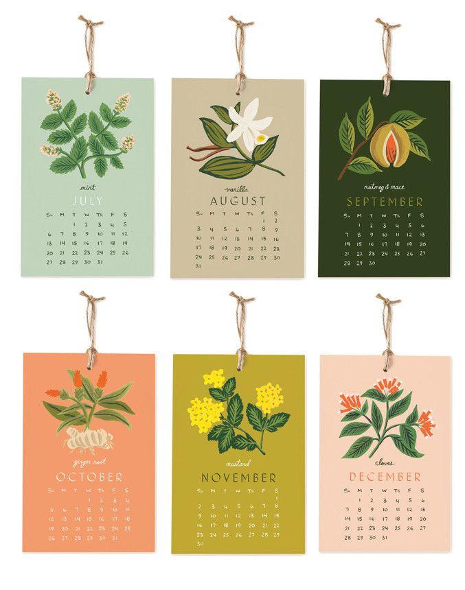 Herbs & Spices 2014 Calendar