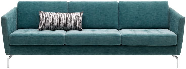 Bo Concept Osaka Sofa - darker neutral color, we can bring brighter color in through throw pillows that can be switched out.
