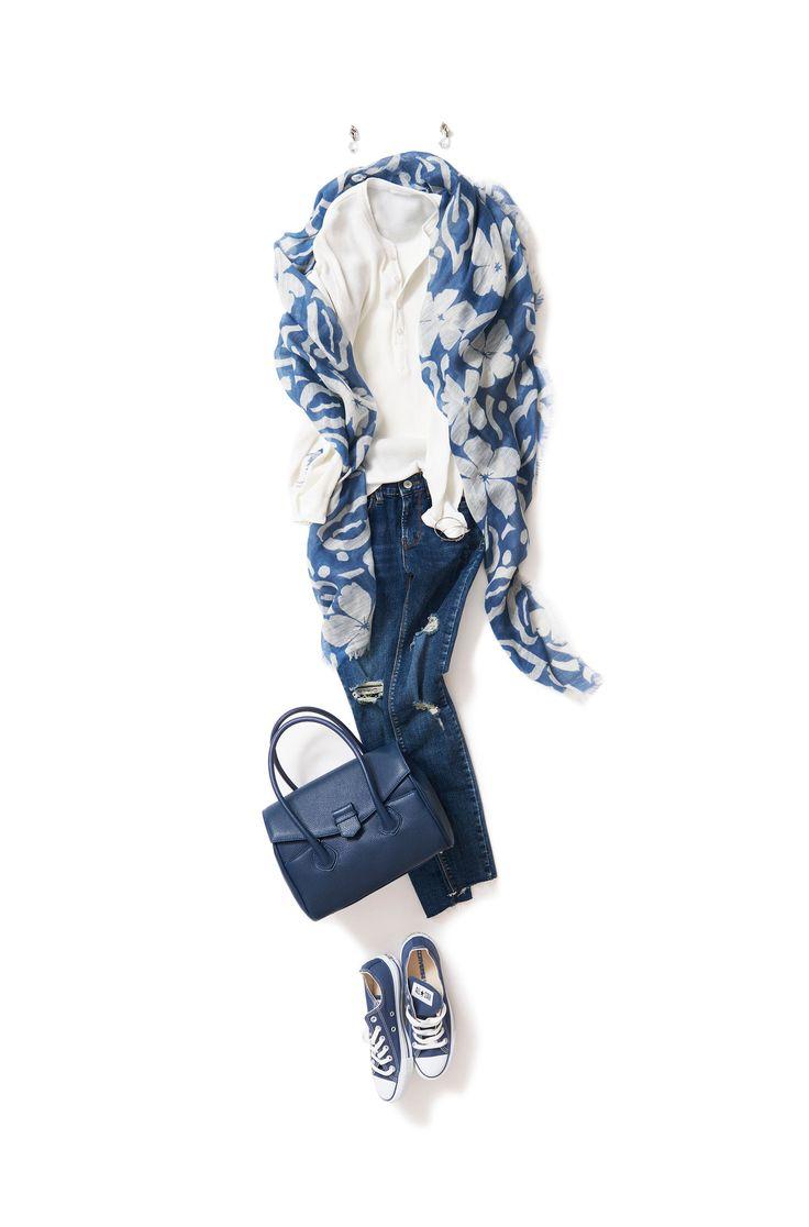 Kyoko Kikuchi's Closet #kk-closet サイズ感と小物がキーワードの、 ボーイフレンドスタイル