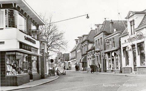 Wijkstraat Appingedam (jaartal: 1950 tot 1960) - Foto's SERC