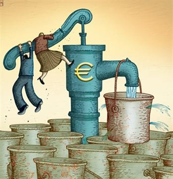 Eric Labaye on unlocking Europe's private investment.    (Illustration by Paul Lachine)