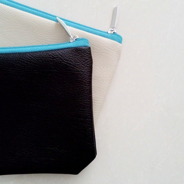New Ready - Blue Soft Pearl Pouch - Blue Casson Pouch
