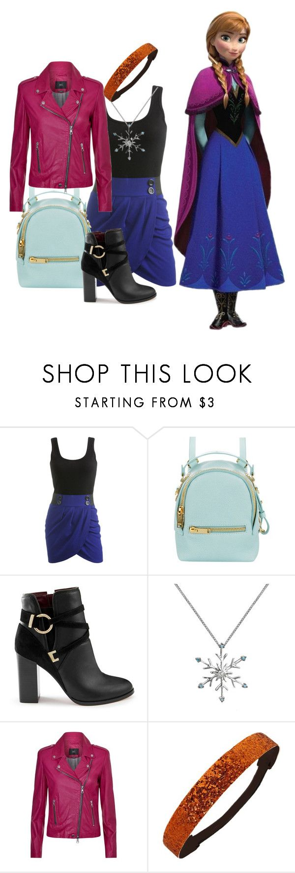 """Frozen"" by fashionfreak4everr ❤ liked on Polyvore featuring Wet Seal, Disney, Sophie Hulme, Miss Selfridge and SET"