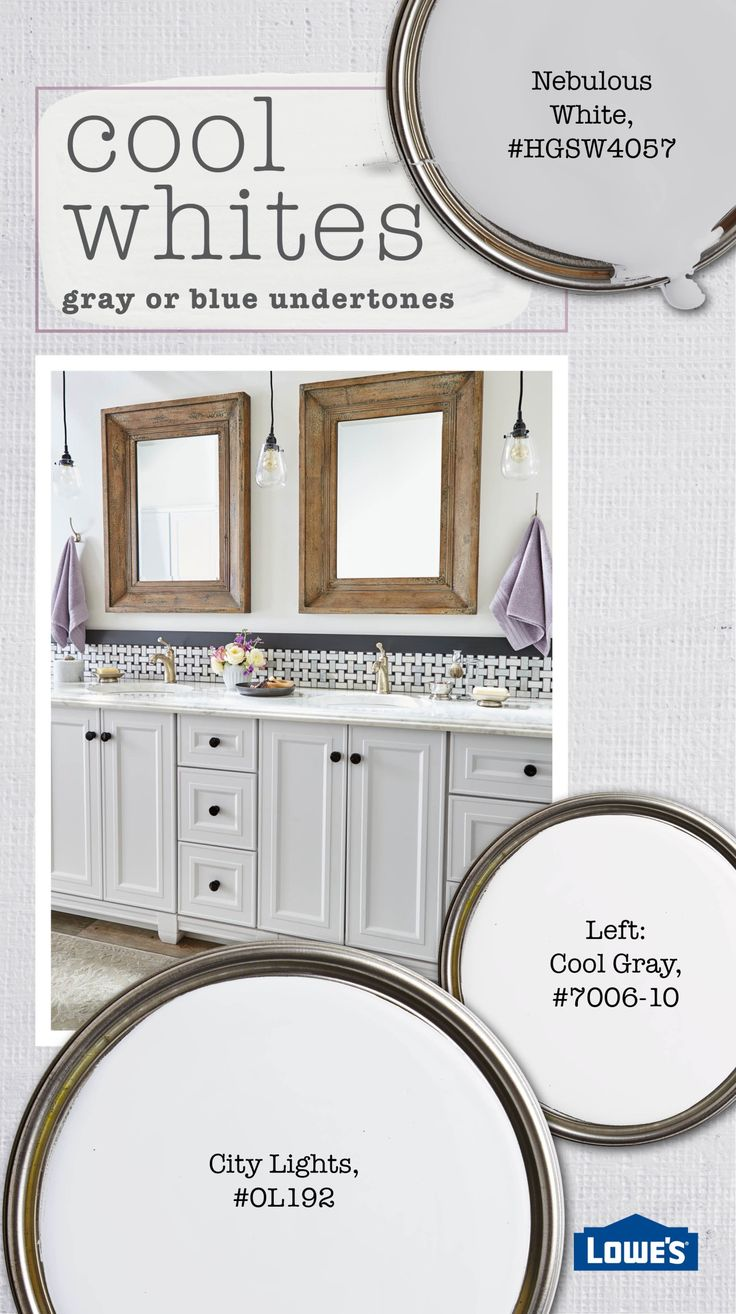 Best Cool White Shades Have Undertones Of Gray Or Blue They're 400 x 300