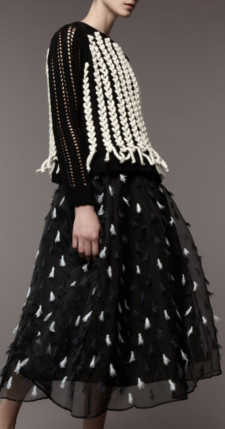Resultado de imagen para knitting fashion 2017