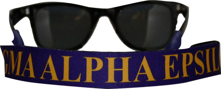 Sigma Alpha Epsilon SAE Fraternity Sunglass Staps - Brothers and Sisters' Greek Store