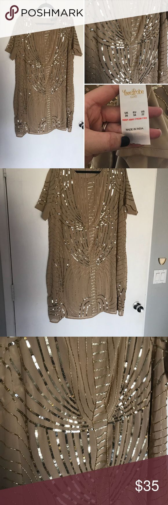 Never worn Size 22 ASOS cocktail dress I wanted to find somewhere to wear this and never did! It has got great heading!! Excellent condition and smoke free home 🏡  I am a size 18/20 in most ASOS dresses, but this size 22 was perfect in this style because there is no stretch! ASOS Curve Dresses Wedding