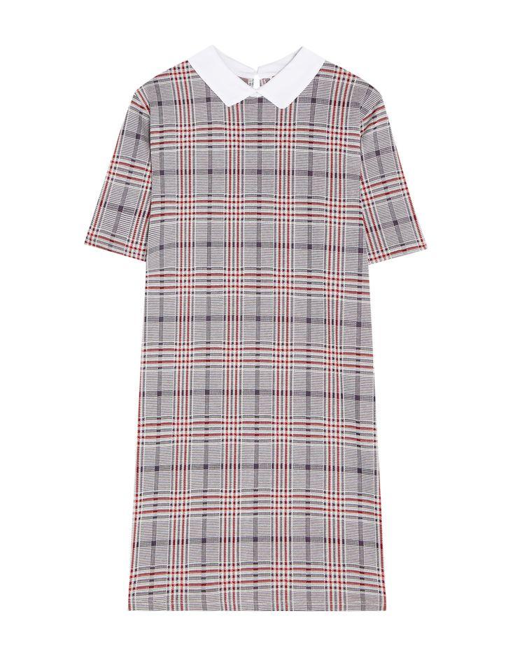 Robe chemise carreaux - Robes - Vêtements - Femme - PULL&BEAR France