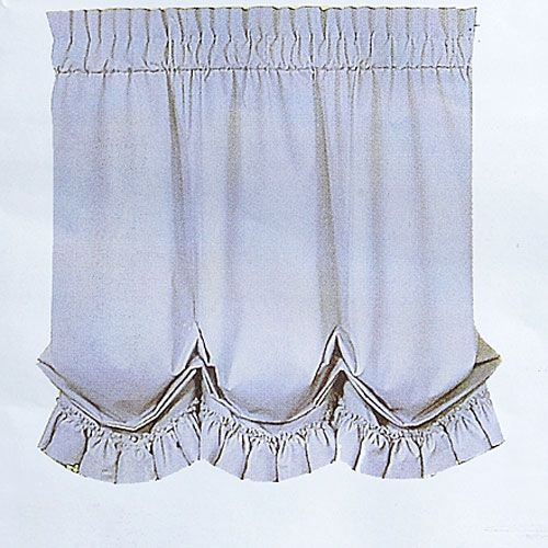 Jessica Voile Sheer Balloon Shade 60x63 Balloon Shades