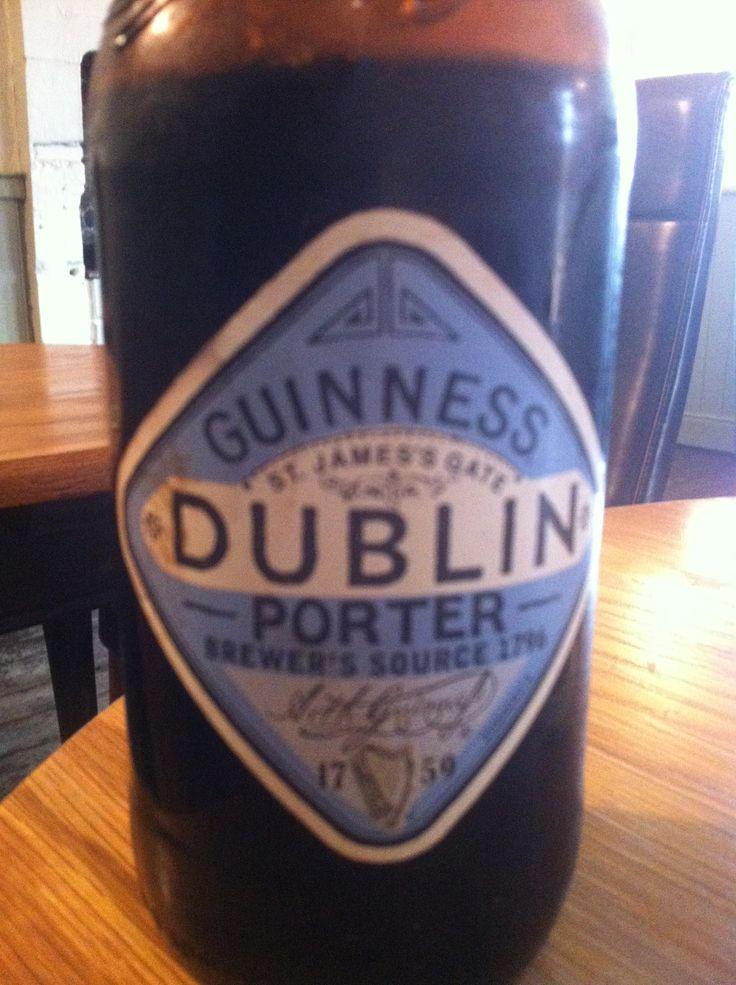 Guinness Dublin Porter. ABV 3.8%. Guinness, Dublin, Ireland. 7/10.