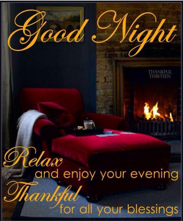 Good Night to all Pinners