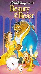 Beauty and the Beast (VHS, 1992) Black Diamond Edition | DVDs & Movies, VHS Tapes | eBay!