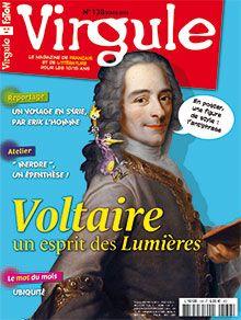 Coin lecture (p. 4-5) Le mot du mois : ubiquité (p. 7) L'atelier : épenthèse (p. 10) Reportage : voyage en Syrie, par Erok L'Homme (p. 12-15) Portrait : Voltaire (p. 16-29) BD : à la recherche du temps perdu , Marcel Proust (p. 31-34)