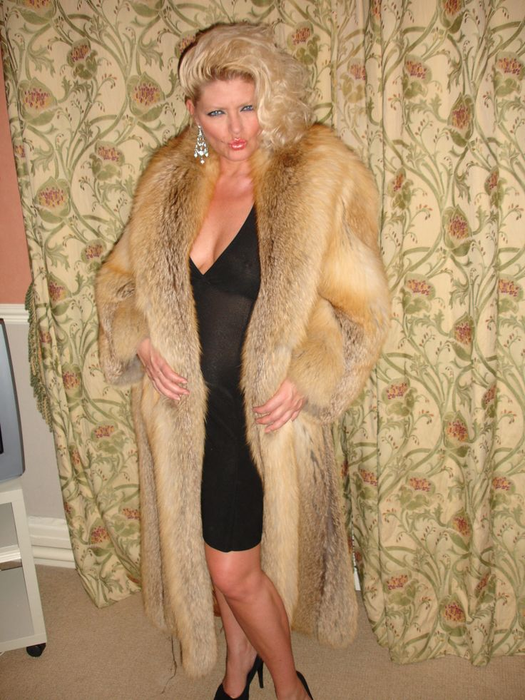 Fox Fur Coat Sex only
