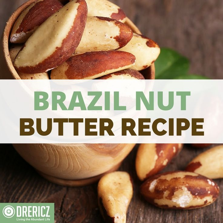 Three organic Brazil nuts will give you the daily recommended dose of 200mg selenium. Brazil Nut Butter is a good way to incorporate them into your diet.