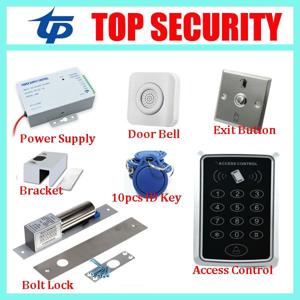 Free Shipping Good Quality Proximity Smart Card Door Access Control Reader Systems Proximity Card Access Control System Access Control