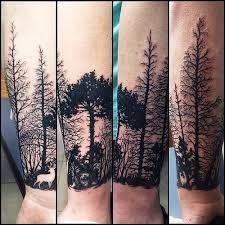 tatuagem de floresta no braço - Pesquisa Google