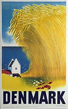 Danish poster by Aage Rasmussen.