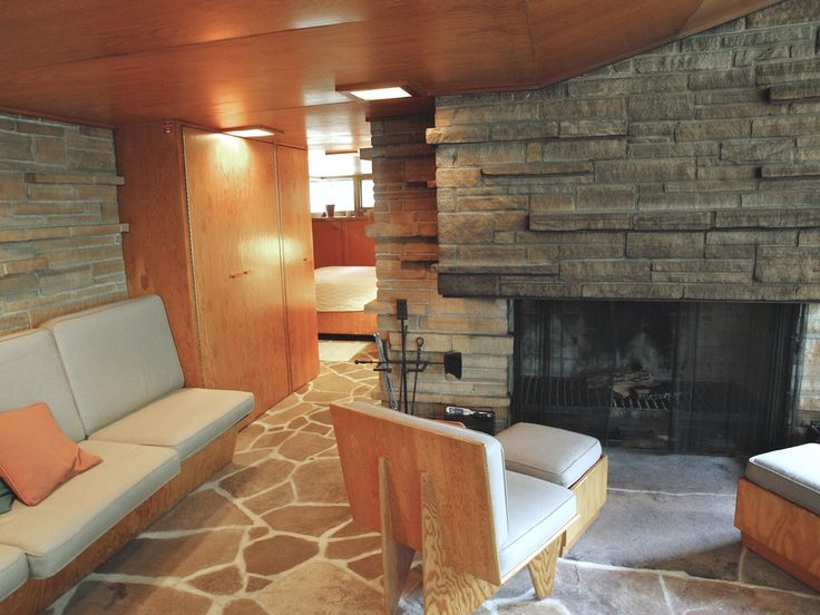 309 best Frank Lloyd Wright Fireplaces images on Pinterest Frank