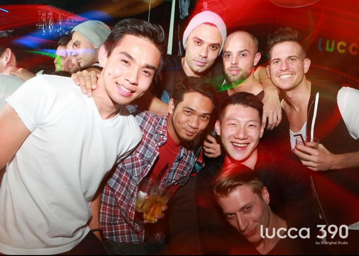 Happening: Lucca Cafe & Lounge, voted Shanghai's Best LGBT Club of 2015. Find them at http://www.utopia-asia.com/shanbars.htm
