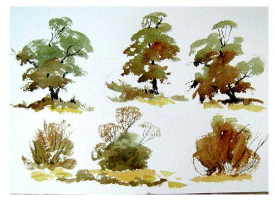 loose watercolours alan owen