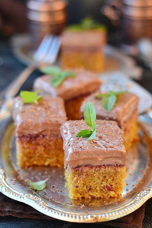 My lovely cake - Кофейные пирожные из кукурузной муки