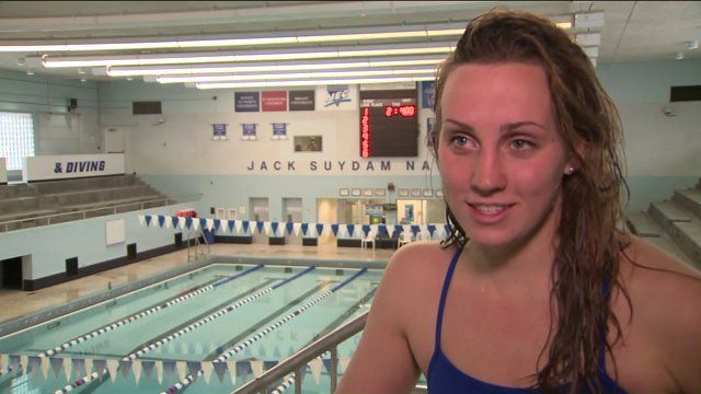 CCSU swimmer beats the odds to swim to Olympic trials | FOX 61