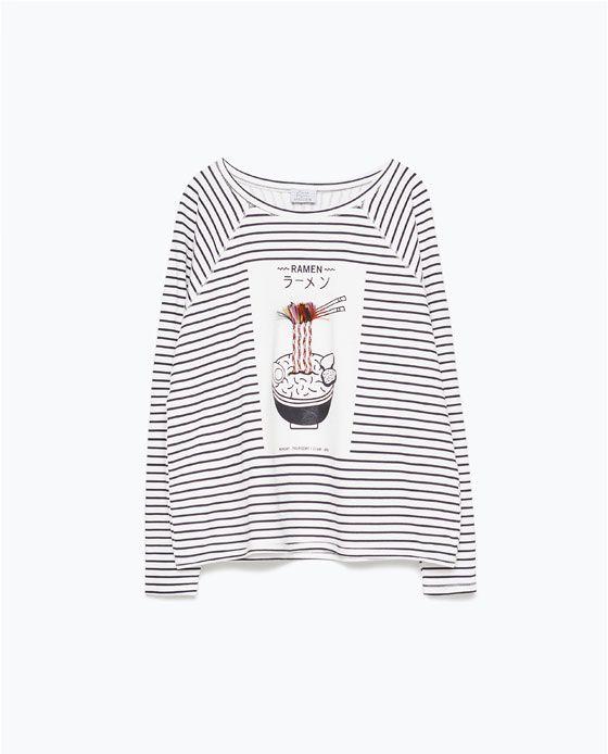 Image 7 of SWEATSHIRT WITH APPLIQUÉ from Zara