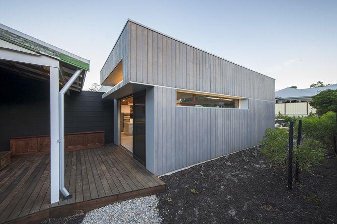 grey stained shadowclad YEOVIL - David Barr Architect