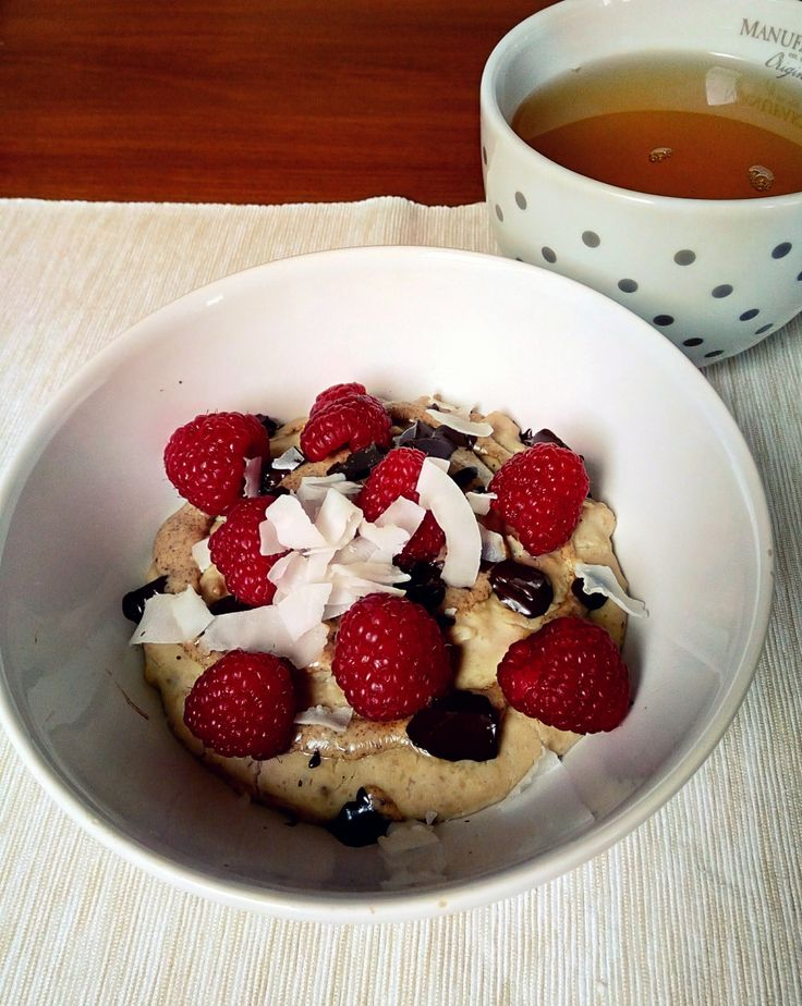 Delicious high protein porridge for better morning before your sport activity or hard working day